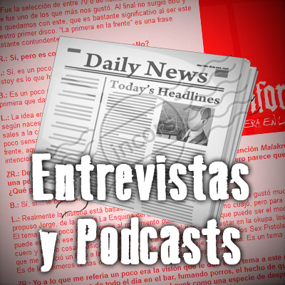 Entrevistas y Podcasts a No Konforme