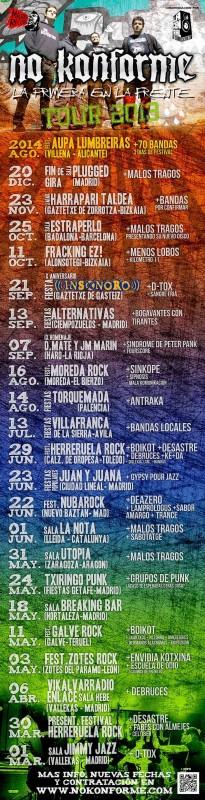 Cartel Gira 2013