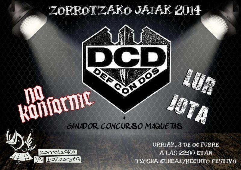2014-10-03 Zorrotzako Jaiak