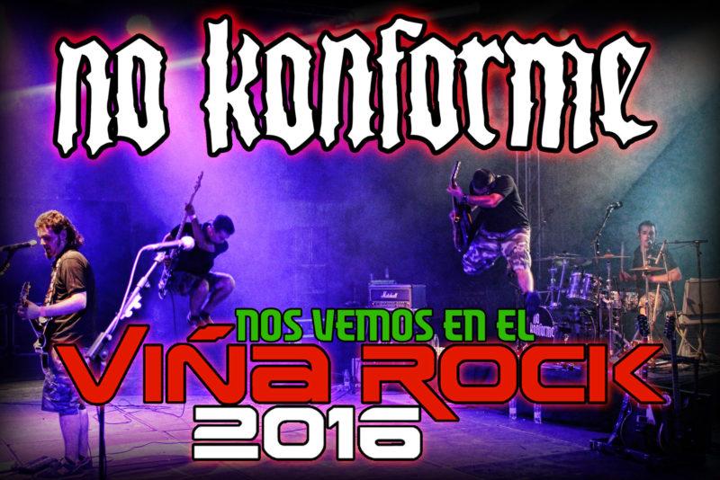 No Konforme VinaRock 2016