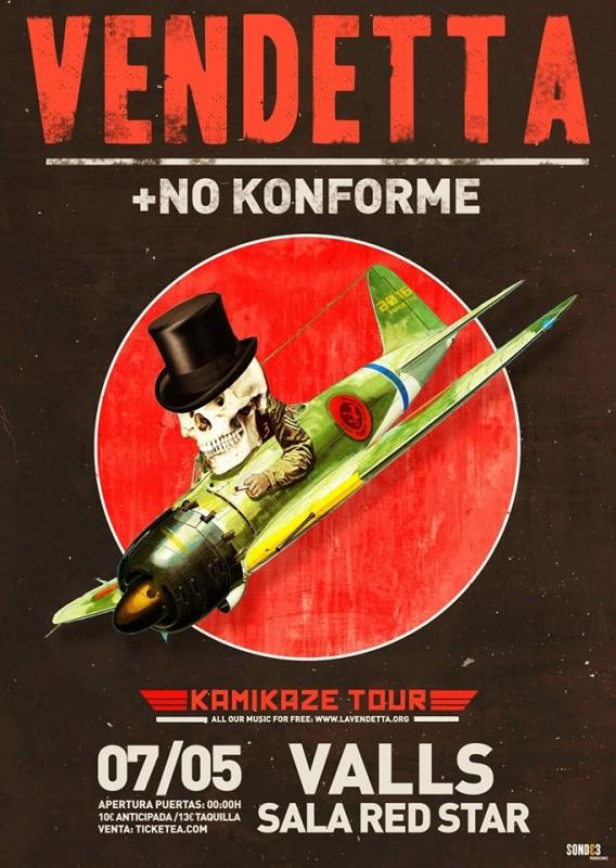 2016-05-07_Vendetta_NoKonforme_RedStar