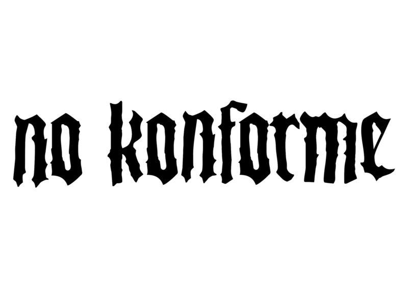 No Konforme Logo - Opcion 2 - Negro