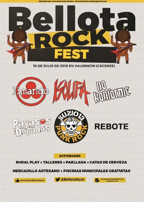 Cartel BellotaRock Fest 2016