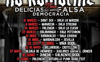 Primeras fechas confirmadas de la Gira: Delicias Tour
