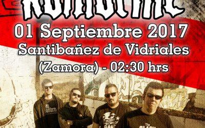 Primera parada en Zamora: Santibañez de Vidriales.
