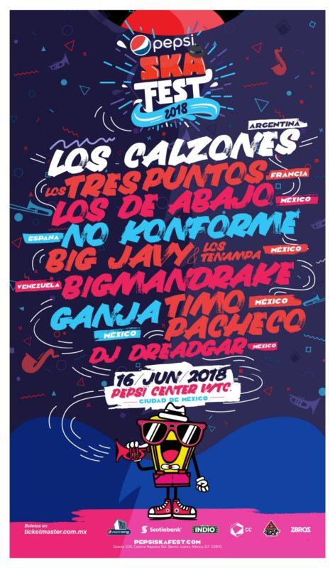 Cartel Pepsi Ska Music Fest