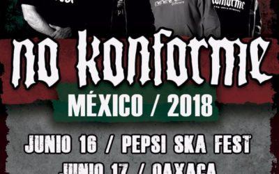 Primeras fechas de la gira por México