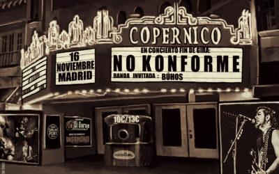 No Konforme: Fin de Gira «Delicias de una Falsa Democracia» en Madrid