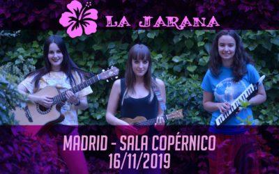 La Jarana es el segundo grupo confirmado para nuestro fin de gira en Madrid