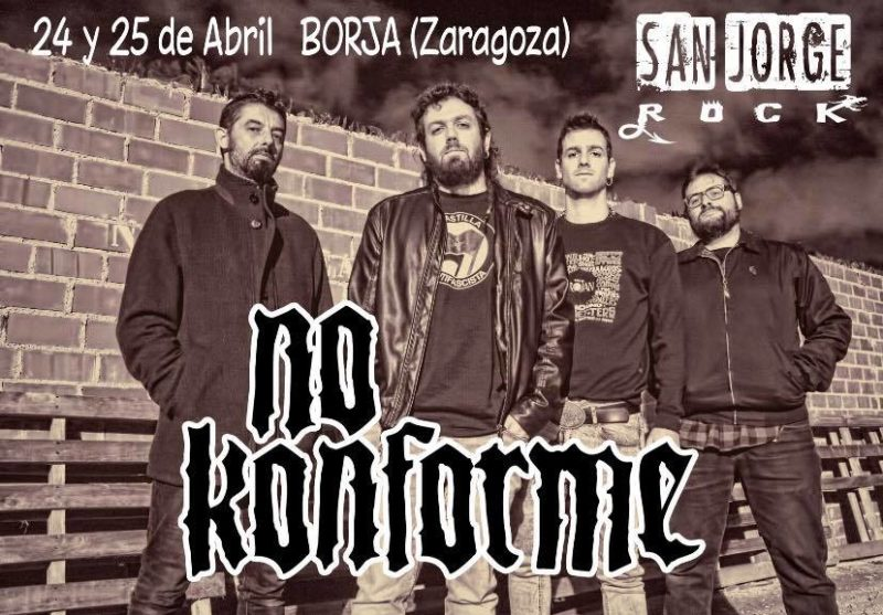 No Konforme al San Jorge Rock