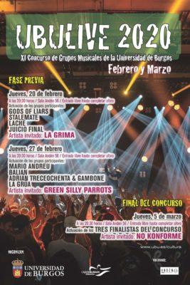 No Konforme en el UBULive 2020, Burgos