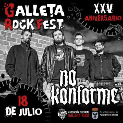 No Konforme al Galleta Rock 2020