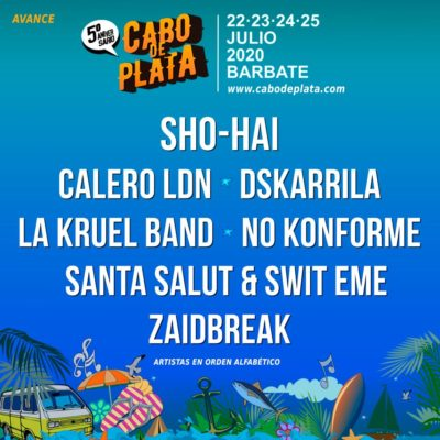 Avance del Cartel del Cabo de Plata 2020