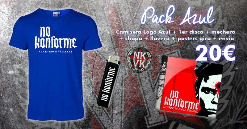 Pack Logo No Konforme Azul