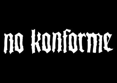 No Konforme Logo - Opcion 2 - Blanco