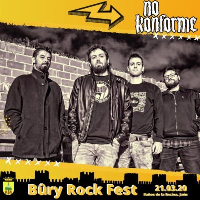 No Konforme en el Bury Rock Fest