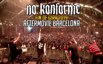 Aftermovie de nuestro fin de gira en Barcelona