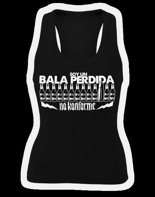 Camiseta Bala Perdida Tirantes