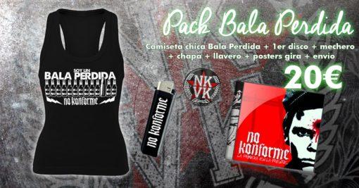 Pack Chica BALA PERDIDA