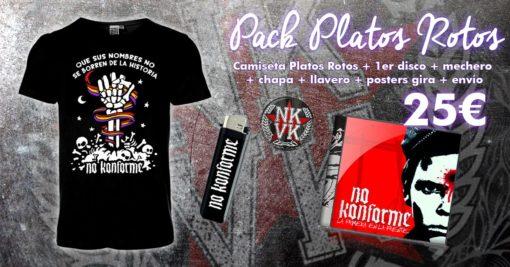 Pack Platos Rotos