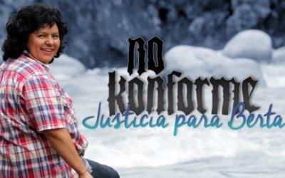 Homenaje a Berta Cáceres en el 5º aniversario de su asesinato